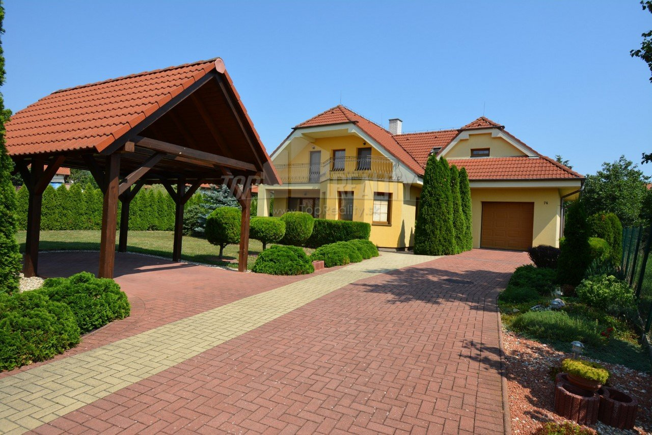 EXCELLENT OFFER, FOR SALE/FOR RENT/EXCHANGE MODERN, COMPLETELY FURNISHED FIVE ROOMS FAMILY HOUSE IN LUCRRATIVE LOCALITY OF NITRA – ČERMÁŇ.