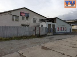 POLYFUNCTIONAL BUILDING (WAREHOUSE OR MANUFACTURING AREAS) WITH LARGE LAND WITH A SURFACE OF 4126 m2 IN ČADCA IN THE INDUSTRIAL ZONE